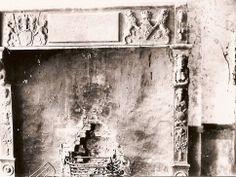Deze waren in 1895 nog aanwezig Met de wapens van Brederode en van Merode uit het begin van der 17e eeuw Schoorsteenmantel in het kasteel ca 1900