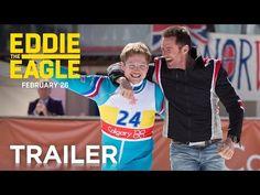 Hugh Jackman Teaches Taron Egerton To Ski In Great EDDIE THE EAGLE Trailer   Swiftfilm