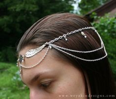 faerie head dress | Labradorite Wings Circlet - Faerie or Elven Style Headdress with ...