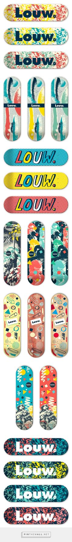 It's Nice That   Jorge Primo's delicious deck designs for Louw skateboards