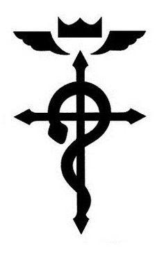Simbolo Que Tiene Alphonse Elric En El Hombro Su Armadura Y La picture