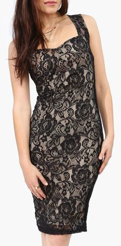 Lace Midi Dress---- mom what about something like this???