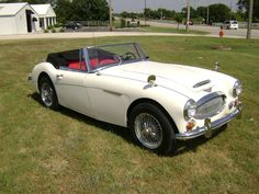 Austin Healy 3000 MK3 -  but mine was pre-1963 and my dream car; tnx totally  to Mama and Daddy - it was my high school graduation gift.   sth