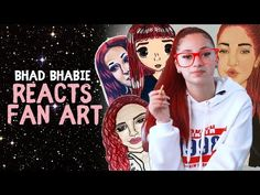 Danielle Bregoli is BHAD BHABIE Reacts to Fans Art