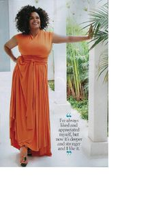 Jill Scott.  A beautiful woman, who multi-talented (singer, actress, writer, etc.), carries herself like the diva she is!