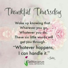 Thursday Quotes Simple Thankful Thursday Quotes With Images  Happy Thursday Quotes