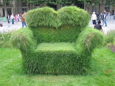 grass chair by curls q