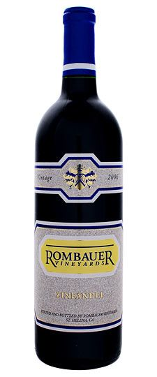savor a bottle of Rombauer Zin (preferably their Napa Reserve)