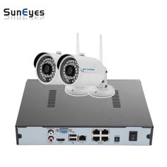(227.69$)  Buy here - http://ainxk.worlditems.win/all/product.php?id=32754298937 - SunEyes SP-VK1821W-E-POE 2CH IP CCTV Camera NVR Kit 1SATA Port with 2pcs Wireless POE 1080P Full HD Mini IP Camera Outdoor P2P