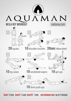 Thirty-five quick and easy hero workouts you can do from the comfort of your home. Including Iron Man, Batman, Dare Devil, Star-Lord, Spider-Man, and more!