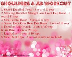 Looking for a quick Valentines Day workout before your date? #health #workout #fitness #exercise