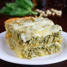This cheesy Pesto Chicken Breakfast Casserole is the perfect savory brunch! It's so versatile you could easily serve it for lunch or dinner, too. Layers of fluffy crescent rolls, fresh basil pesto, shredded chicken, and Easy Breakfast Casserole Recipes, Overnight Breakfast Casserole, Breakfast Casserole Sausage, Best Breakfast Recipes, Breakfast Ideas, Brunch Casserole, Morning Breakfast, Brunch Ideas, Breakfast Dishes