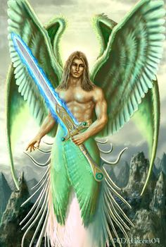 Archangel Michael Photo: This Photo was uploaded by dxrosemary. Find other Archangel Michael pictures and photos or upload your own with Photobucket fre. Angels Among Us, Angels And Demons, Angel Protection, Male Angels, Archangel Raphael, St Raphael, I Believe In Angels, Ange Demon, Angel Pictures
