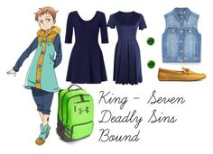 """""""King Bound"""" by athena-parthenos ❤ liked on Polyvore featuring art"""