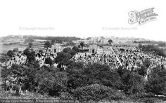 Plymouth, The Cemetery 1889, from Francis Frith