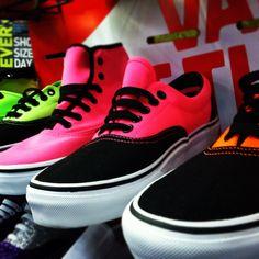 Neon Vans Shoes