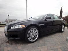 2012 Jaguar XJ Supercharged Sedan In Ebony Black At Park Place Jaguar Plano