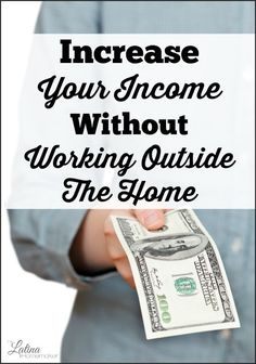 Want to contribute to your family's finances, but can't work outside the home? Check out this list of great income producing ideas that you can do from the comfort of your own home.