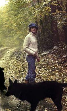 John in the woods