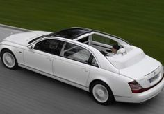 Maybach Landaulet  Country of Origin: Germany Engine: 620hp 12-cylindar 0-60mph: 5.2 seconds Price: $1.4 million