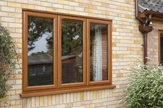Have A Look at Our Beautiful Windows Gallery Today Casement Windows, Windows And Doors, Golden Oak, Lounge Ideas, House Front, Deco, Bungalow, Home Improvement, New Homes