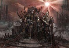 Melkor et Sauron