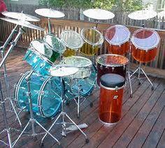 vintage vistalite drum sets - Google Search