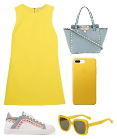 """""""Untitled #11"""" by ericaivan27 on Polyvore featuring Alice + Olivia, Sophia Webster, Valentino and Kate Spade"""