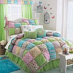 Multi Colored Puffy Quilt