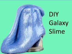 DIY Glitter Slime Without Borax :: BigFoot9