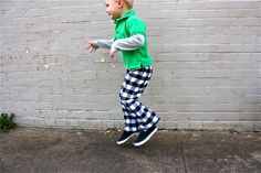 TUTORIAL: Kid Pants with a Lining | MADE