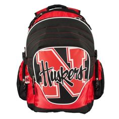 NCAA Nebraska Cornhuskers Premium Backpack by Littlearth. $26.76. Officially licensed product in team color with blown out team logo. Comfortable padded straps and breathable mesh back padding. Made of durable sportech polyester. Includes league keychain. Large center pocket with inner padded laptop sleeve, organizer pocket, and mesh side pockets. It's all about the features with Littlearth's Premium Backpack.  Littlearth's Premium Backpacks are perfect for the ...