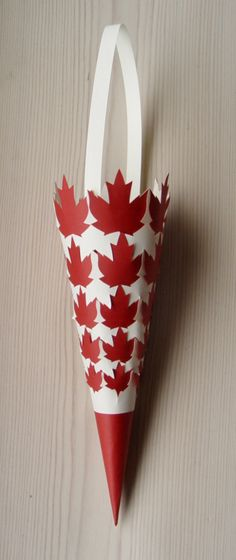 Cone #017 Maple Leaves