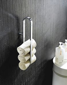 Dezi Home Alchemi - Towel storage #towels #bathroom #towelbar #towelstorage #handtowels #interiordesign #bathdesign #methomedumbo #brooklynshowroom