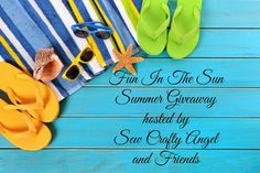 Sew Crafty Angel: Blogger Opportunity - Fun In The Sun Summer Paypal Cash Giveaway
