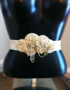 Items similar to Bridal Sash Belt- Vintage Wedding- Swarovski Crystal Bridal Belt on Etsy Bridal Sash Belt, Wedding Dress Sash, Wedding Gowns, Our Wedding, Dream Wedding, Sash Belts, Hair Style, Bliss, Swarovski Crystals