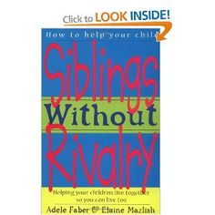 If you have more than one child in your house then this book is for you!