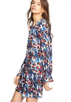 84b765cf6d47 HIBISCUS PRINT QUINN DRESS Summer Fashion Trends, Spring Summer Fashion,  Latest Fashion For Women