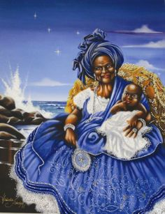 "Yemaya (Cuban), Yemoja (Africa), and Imanja (Brazil): ""the Mother of the Waters."" by Claudia Krindges"