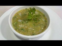 ▶ salsa verde, taquera, Receta #104, como hacer salsa verde - YouTube