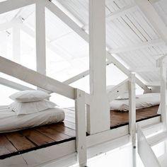 La chambre ou l'illusion du paradis/ marie claire maison / old church rebuild to home