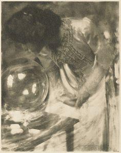 Gertrud Käsebier – The Crystal Gazer