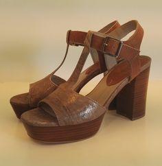 Sandalo Dei Colli in pelle taupe