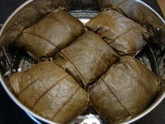 Sunflower Food Galore: Lo Mai Gai 糯米雞 (lotus leaf wrapped chicken rice)