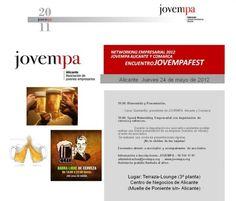 Networking Empresarial 2012. Encuentro JOVEMPAFEST (24/05/2012)