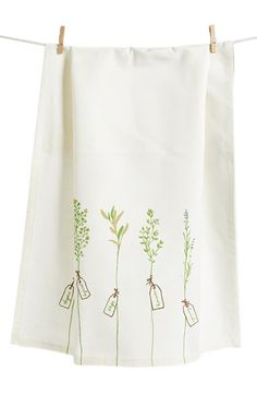 Nordstrom at Home 'Herb Garden' Dish Towel available at #Nordstrom