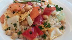 Kichererbsencurry mit Basmati Reis