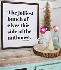 Christmas Home Tour | MyFabulessLife.com awesome quote!
