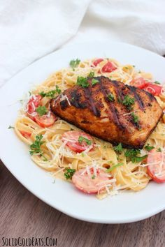 Recipe blackened salmon pasta