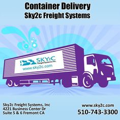 Sky2c Freight System Inc offer Container delivery and fright shipping service on affordable rates.